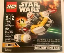 New in Box Lego Star Wars Y-Wing Microfighter Aircraft 90 PCS Disney 75162 SER 4