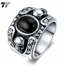 Onyx Band Fashion Rings