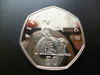 1998 PROOF FIFTY PENCE COIN. THIS 1998 PROOF 50P IS HOUSED IN A NEW CAPSULE