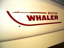 "BOSTON WHALER OEM DRIP MOLD 29"" HULL LOGO SET - RED - TAX FREE!"