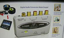 Copy LP Record Cassette Convert Tape to PC Mac mp3 CD Transfer Music RCA USB