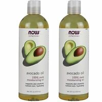 2x Bottles NOW FOODS 100% Pure&Natural Essential Base Carrier Oil 16 oz USA made