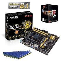 NEW AMD A6 5400K APU CPU HD 7540 ASUS MOTHERBOARD 32GB DDR3 MEMORY RAM COMBO KIT