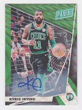 2018 Panini National VIP Gold Green Wave Refractor Auto #65 Kyrie Irving #'d 5/5