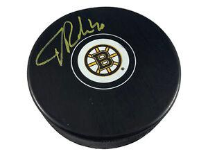 Tuukka Rask signed puck NHL Boston Bruins Tuukka Rask Player Hologram