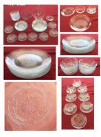 Vintage Arcoroc Dinnerware MARIELLA 1990s FRANCE 39-Piece Set