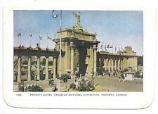 Folkard Card TORONTO ONTARIO Prince's Gates, Canadian National Exhibition