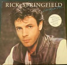 Rick Springfield Living in OZ featuring Affair of the heart Me & Johnny  LP