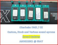 Oberheim DMX / DX sound Eproms with Stock, TR-909 TR808 and Drumware sound chips