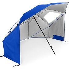 Sport Brella Portable All-weather and Sun Umbrella - 8 foot - Canopy Blue