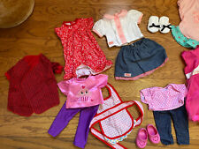 """Huge Lot Of 71 Pieces 18"""" Doll Clothing & Accessory Lot Our Generation Our Life"""