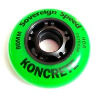 NEW last 1 K2 Radical Inline Replacement Wheels 100mm//85A 4-pack FREE SHIP