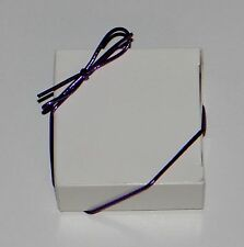 """Purple Metallic Stretch Loops 8"""" 10"""" 19"""" for 1"""" & 1/2"""" lb. Candy & Jewelry Boxes"""
