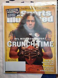 Sports Illustrated Back Issue November 14, 2005 Troy Polamalu Pittsburgh Steeler