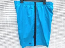 Nike Swim Trunks Men's New Board Shorts Blue NWT swimming suit XXL 2XL