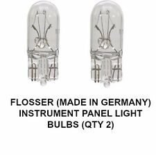 FLOSSER Instrument Panel Light Bulb W5W 12V 5W W2 1X9,5D T10 BP161  4291