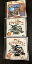 3 Original 100 Fun! With Sound Effects CDs Volume 1, 2, 3 Authentic spectacular