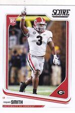 2018 Score Football Roquan Smith Georgia Bulldogs Rookie Card #342