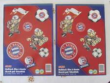 2 ältere FC Bayern-Malblöcke DIN A4 sehr guter Zustand aus Wohnungsauflösung