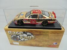 Kevin Harvick #29 GM Goodwrench 2001 MC Action 24kt GOLD 1/24th Nascar Diecast M