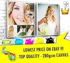YOUR PICTURE PERSONALISED ON TO CANVAS BOX  TOP QUALITY   MATAGA