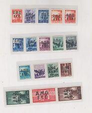 Italy,Trieste A,1947,Amg Ftt set ,Mnh a