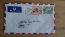 British Guiana QEII 1964 Postal Stationery Air Mail Letter To London GPO  Cancel