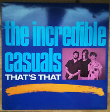 The Incredible Casuals – That's That LP 1987 UK Issue Demon EX/NM