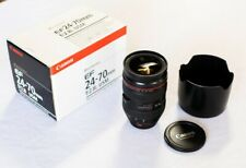 Canon EF 24-70mm f/2.8L USM Telephoto Lens (8014A002) with hood - Excellent!