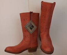 NWB FRYE CORAL DISTRESSED LEATHER BRUCE WESTERN BOOTS 10 $300