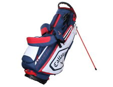 Callaway Chev Men's Golf Stand Bag 9inch 5-Way 5.5 lbs Free EMS Navy/White/Red