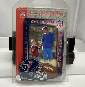 NFL Houston Texans Football Team High Definition Magnetic Picture Photo Frame