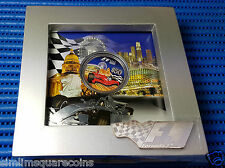 2008 Singapore Grand Prix Singtel Formula F1 $50 Commemorative Silver Proof Coin