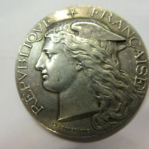 A1210 Medaillen, Frankreich- MINISTÈRE DE L'AGRICULTURE en Argent