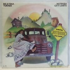 IKE & TINA TURNER - vintage vinyl  LP - Nutbush City Limits