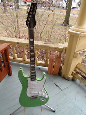 "Hamiltone "" Surf Green "" Ltd Edition Neck Through Guitar"