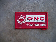 vintage O.N.C. Freight Systems Rogor trucks trucking patch hat trucker