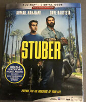 NEW - Stuber (Blu-Ray,2019) with slipcover No Digital