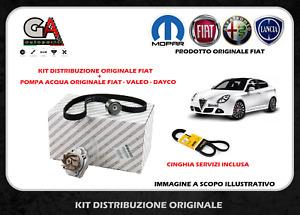 Kit distribbuzione Alfa Romeo Giulietta 1.4 gpl + pompa acqua + cinghia servizi