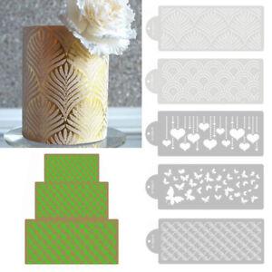 Cake Stencil Plastic Lace Cake Boder Stencil Template DIY Mold Decor Bakeware