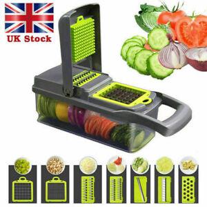 14in1 Food Vegetable Kitchen Tool Salad Fruit Peeler Cutter Slicer Dicer Chopper