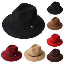 Chapeaux noirs pour homme, taille L (58 - 59 cm)