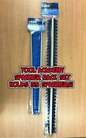 2x Laser Tools BLUE Sharks Teeth Spanner Wrench Holds 55 Wrench Holder Rack