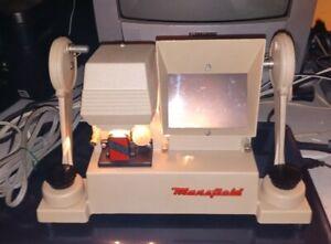 Vintage Mansfield Model 650 Film Editor