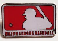 1997 MLB BATTER LOGO RED/WHITE LAPEL PIN Major League Baseball MINT!!