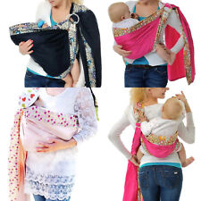 Baby Wrap Sling Carrier for Babies, Infants and Toddler Adjustable Cradle Pouch