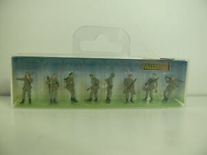 5964)  Faller 1:87 Soldaten Marschierend Bundeswehr Wehrmacht OVP NEU 156004