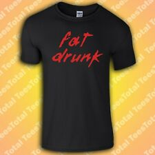 Fat Drunk T-Shirt | Daft Punk | Beer | Sesh