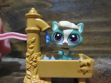 lps water spout accessory and kitten #3786