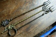 More details for three antique or vintage toasting forks cornish pixie, croydon, shakespeare